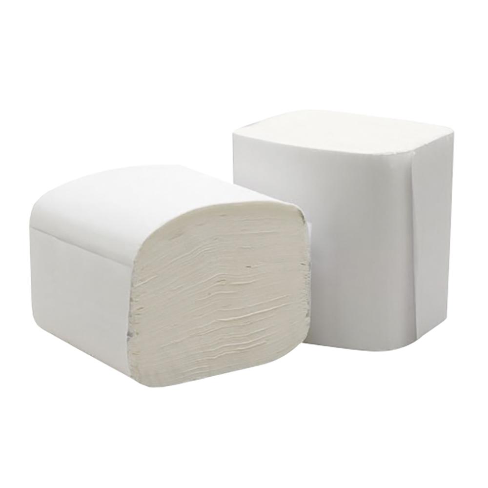 Business Bulk Pack Folded Toilet Tissue 2-ply 103x200mm 250 Sheets White [Pack 36]