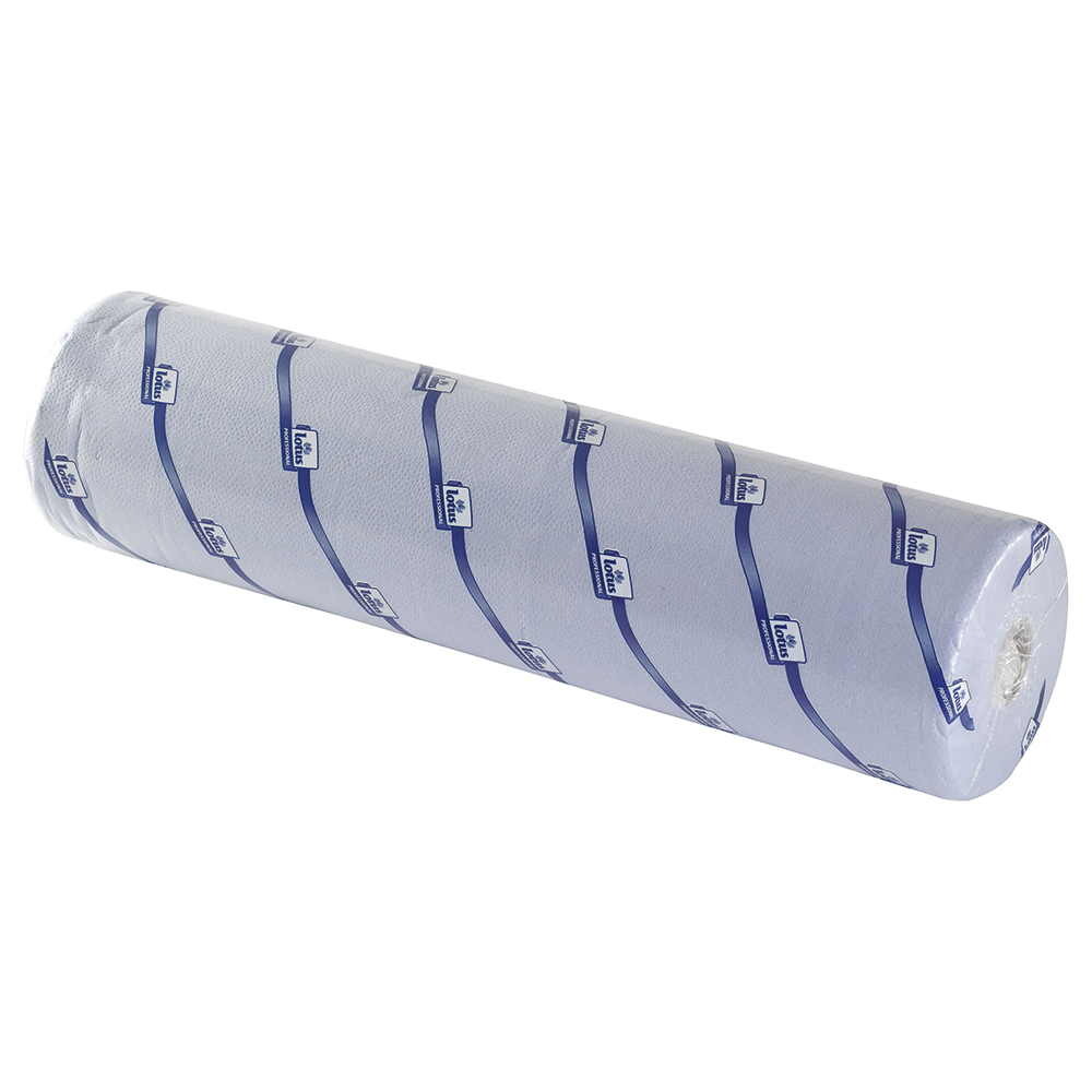 Business Hygiene Roll 20 Inch Width 100 per cent recycled 2-ply 130 Sheets W508xL457mm 40m Blue