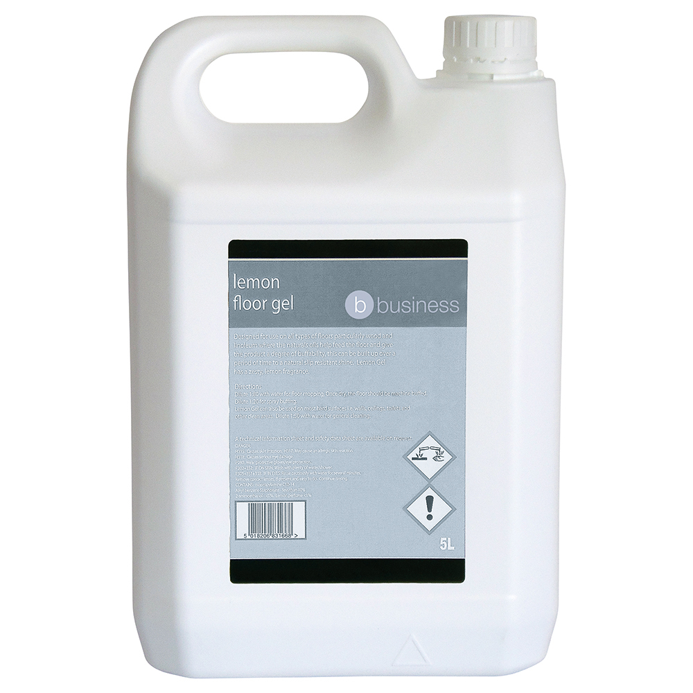 Business Lemon Floor Gel 5 Litre