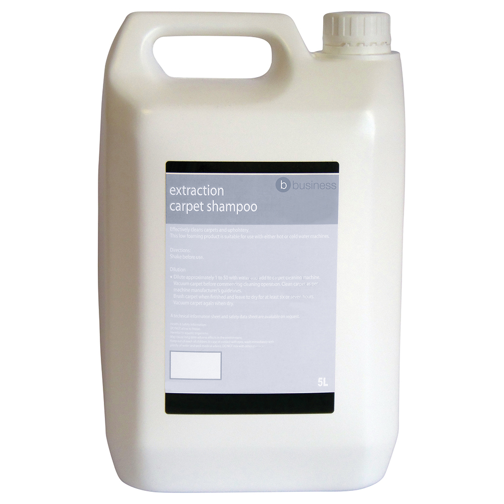 Business Extraction Carpet Shampoo 5 Litre
