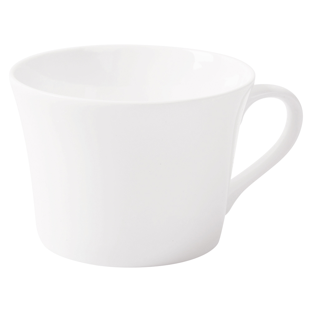 Business Fine Bone China Teacup White [Pack 6]