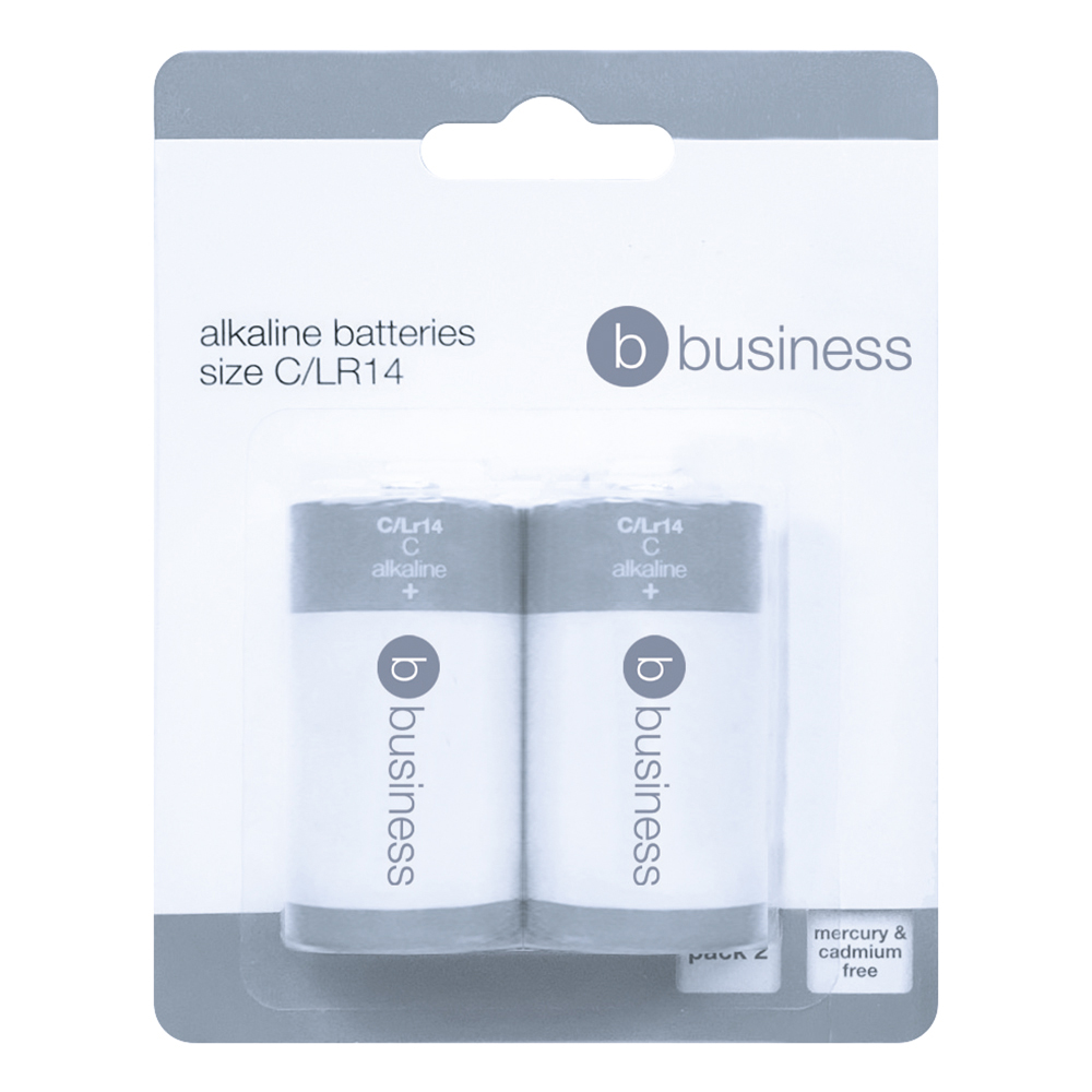 Business Batteries C /LR14 [Pack 2]