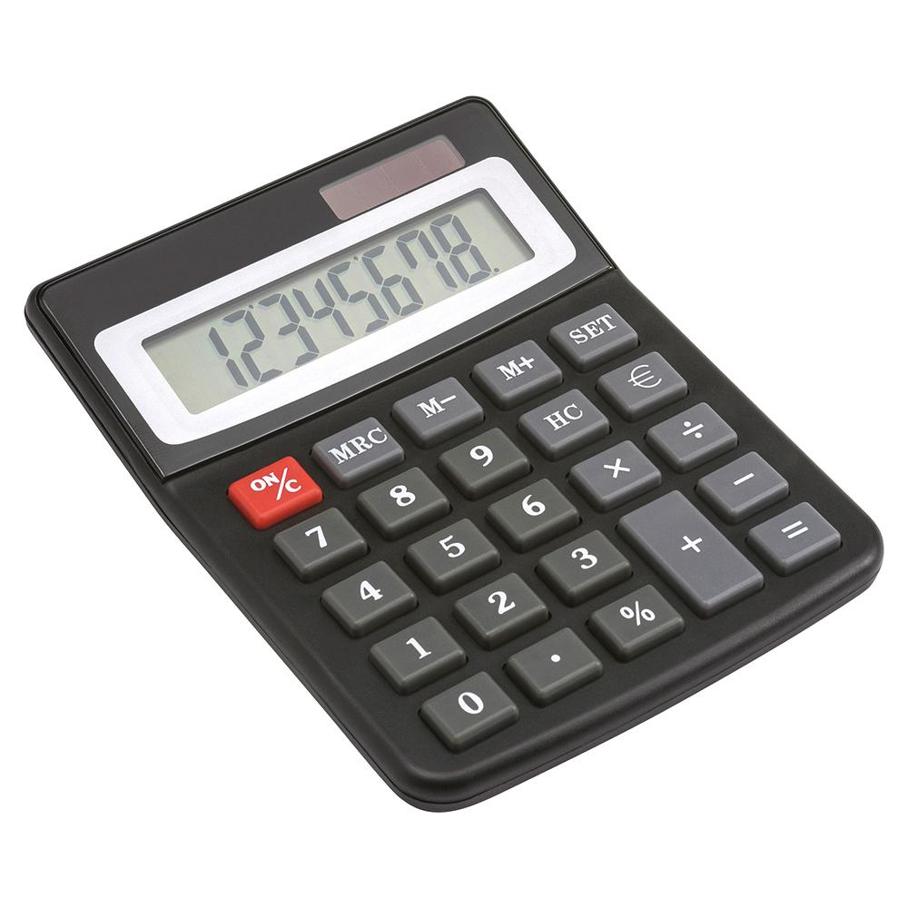 Business Desktop Calculator Dual-powered 8 Digit Display 3 Key Memory