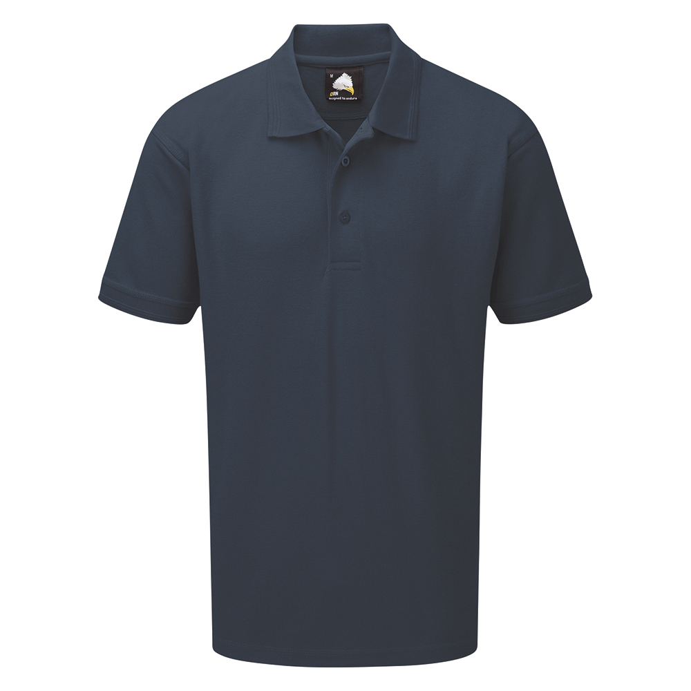 Business Polo Premium Triple Stitched Size Medium Graphite