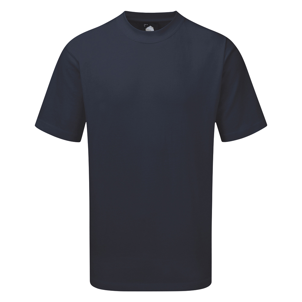 Business T Shirt Premium Cotton XS Navy (Pack of 1)