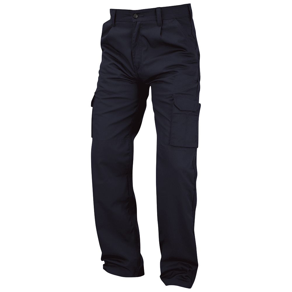 Business Combat Trouser with Kneepad Waist 50in Leg 29in Navy (Pack of 1)