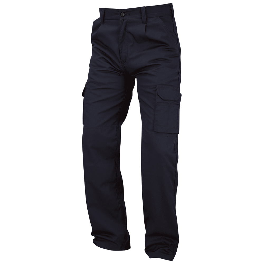 Business Combat Trouser with Kneepad Waist 28in Leg 35in Navy (Pack of 1)