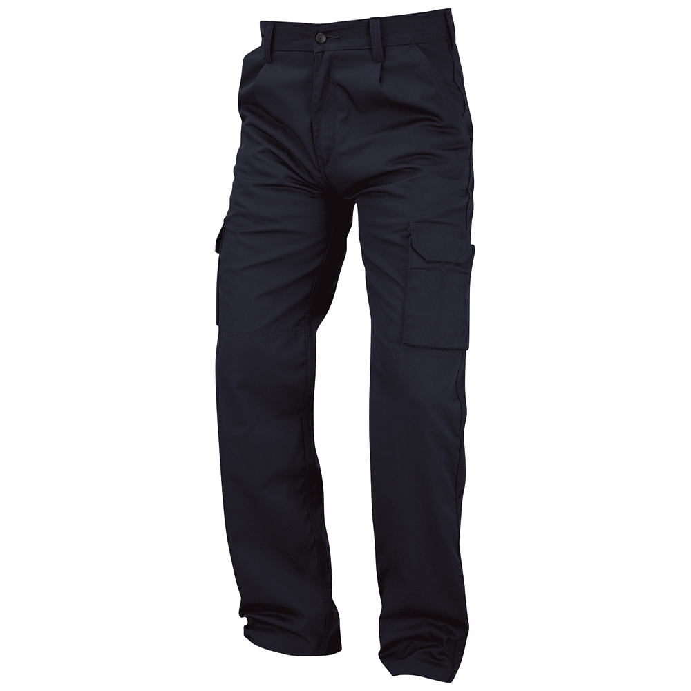 Business Combat Trouser with Kneepad Waist 48in Leg 35in Navy (Pack of 1)