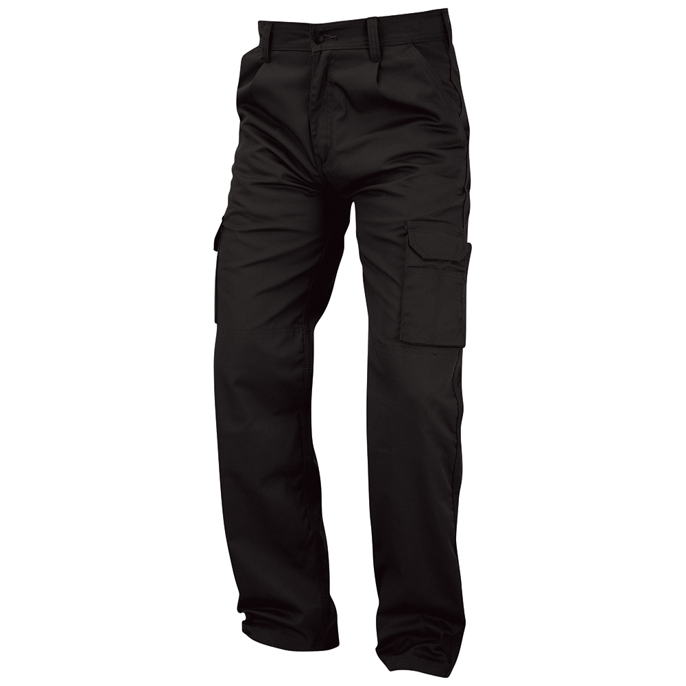 Business Combat Trouser with Kneepad Waist 28in Leg 29in Black (Pack of 1)
