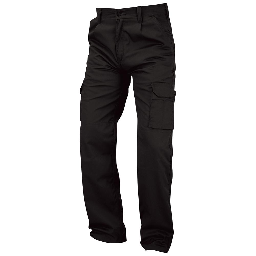 Business Kneepad Combat Trouser Multi-functional Waist 50in Leg 29in Black