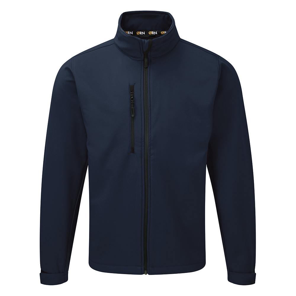 Click Workwear Soft Shell Jacket Water Resistant Windproof XL Navy Ref SSJNXL *Approx 3 Day Leadtime*