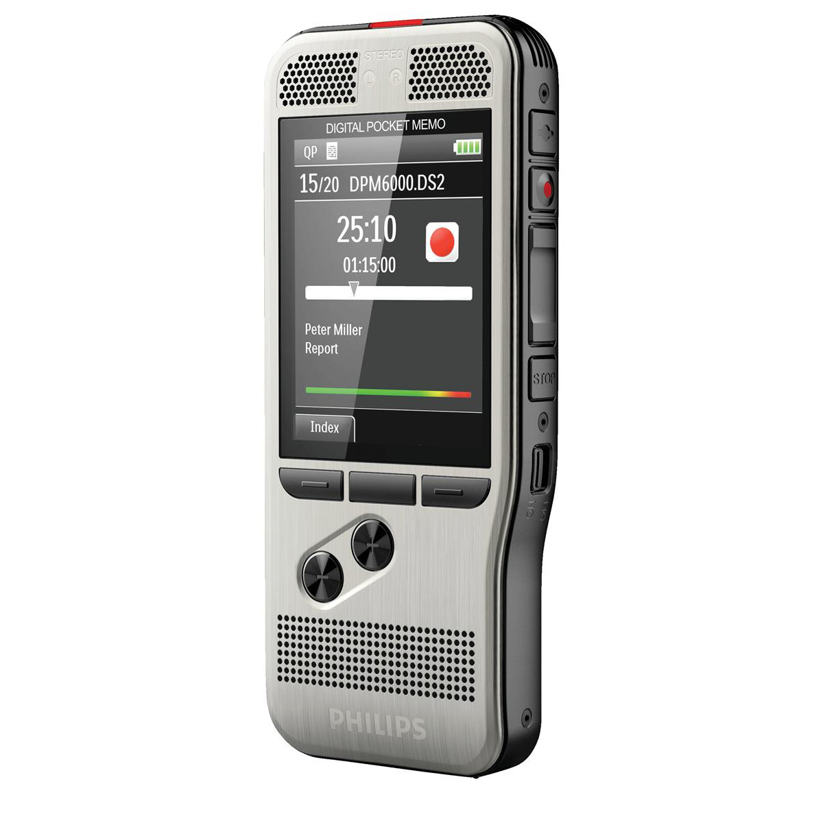 Digital voice recorders Philips DPM 6000 Dictation Recorder Ref DPM6000/02