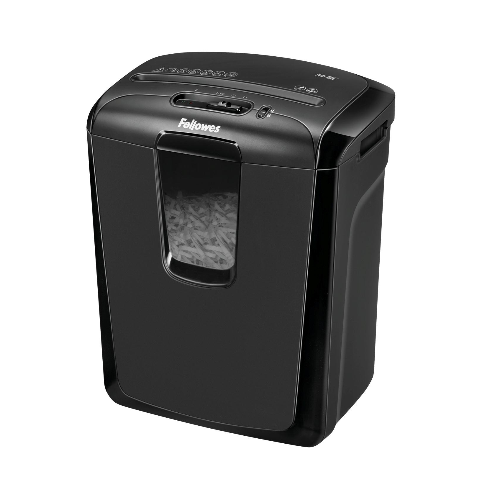 Fellowes M-8C Shredder Cross Cut P-3 15 Litres Ref 4604201