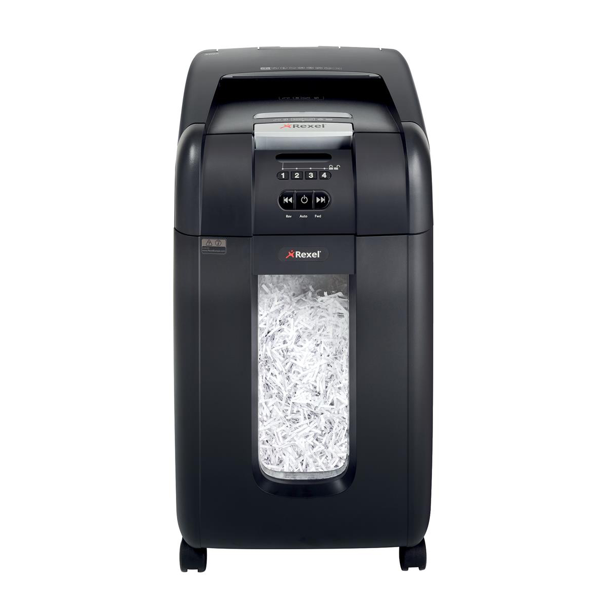 Shredders Rexel AutoPlus 300M Shredder Micro Cut P-5 Ref 2104300
