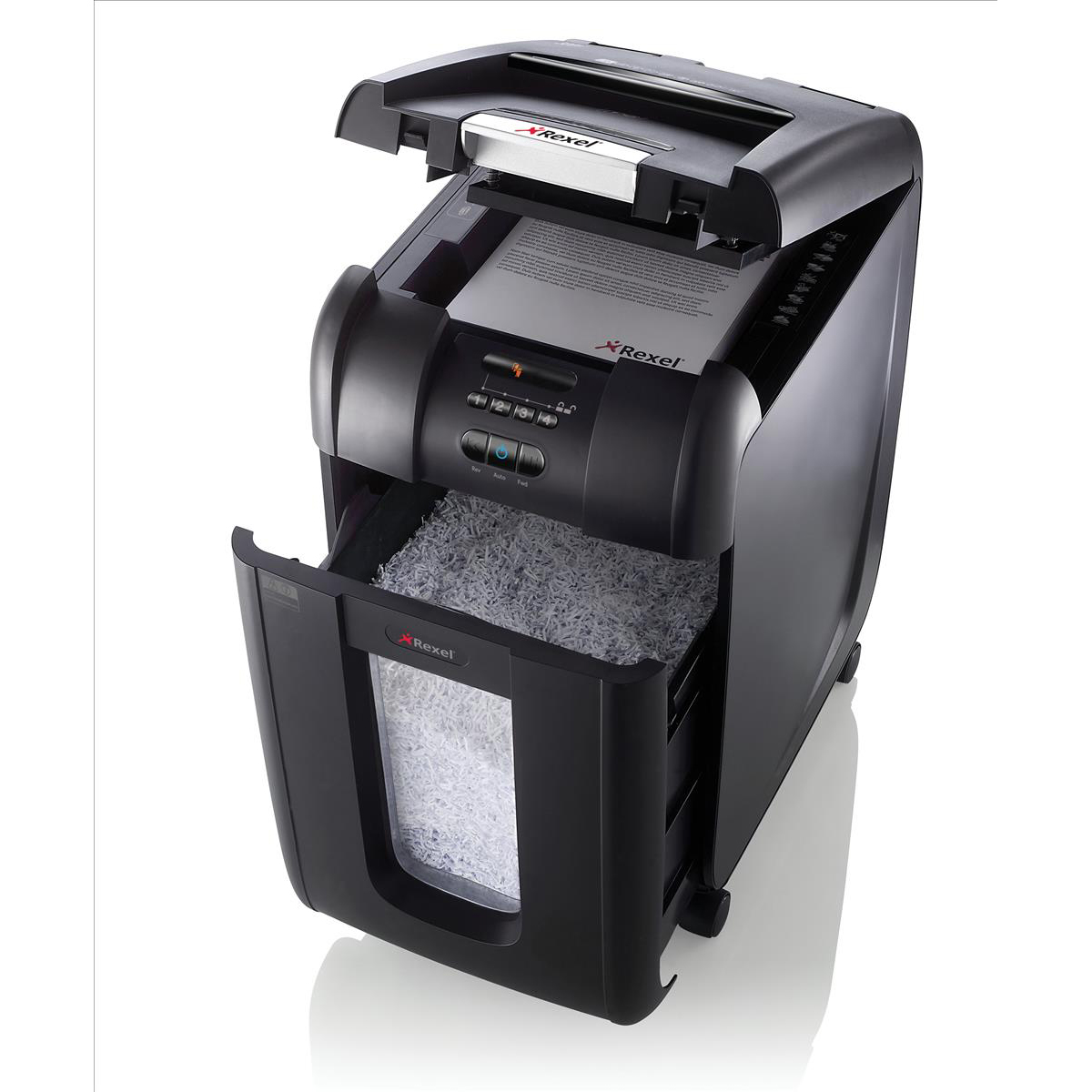 Rexel AutoPlus 300M Shredder Micro Cut P-5 Ref 2104300 [REDEMPTION] Oct-Dec19
