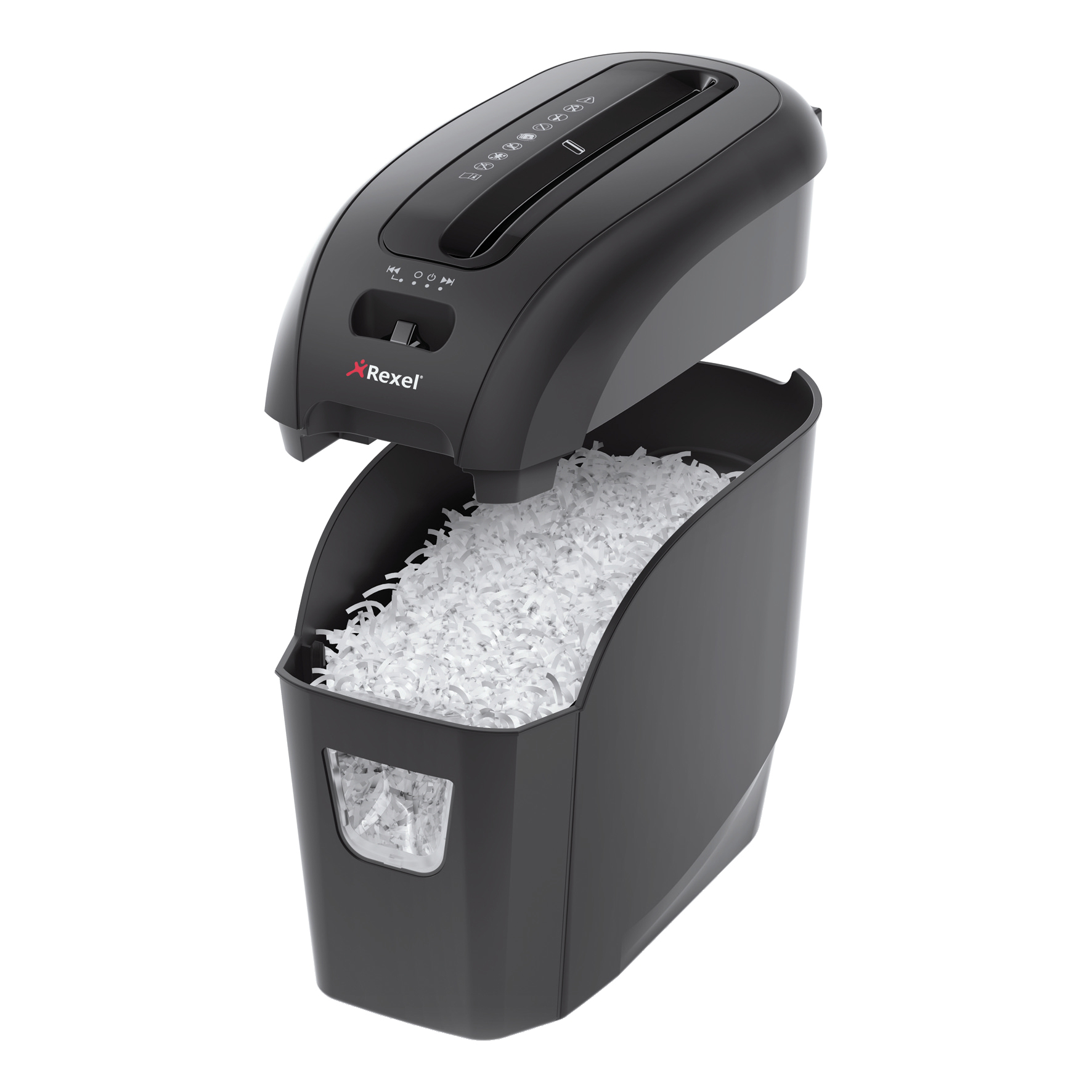 Rexel Prostyle Plus 5 Shredder Cross-cut P-4 7.5 Litres Ref 2104005