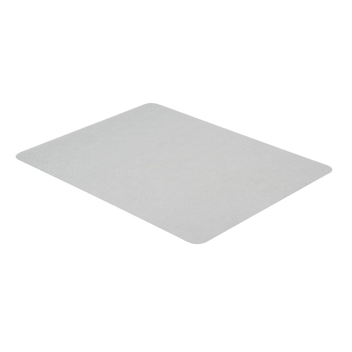 Cleartex Valuemat Chair Mat PVC Rectangular For Hard Floors 1200x750mm Clear Ref FC127517EV