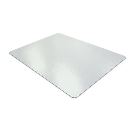 Cleartex Ultimat Chair Mat Rectangular Anti-slip for Polished Floors 1190x750mm Clear Ref FC12197520ERA
