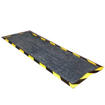 Doortex Kablemat Rubber Backing 400x1200mm Charcoal Grey Ref FCKAB40120