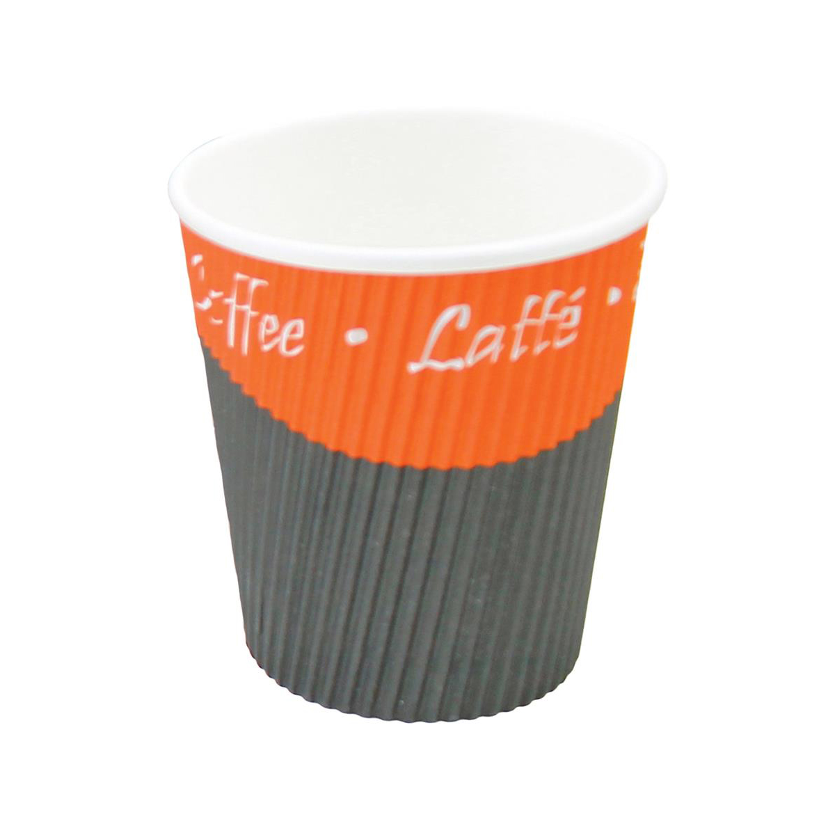 Ripple Paper Cups Triple Walled PE Lining 8oz 236ml Varied Design Ref RY00749 Pack 25