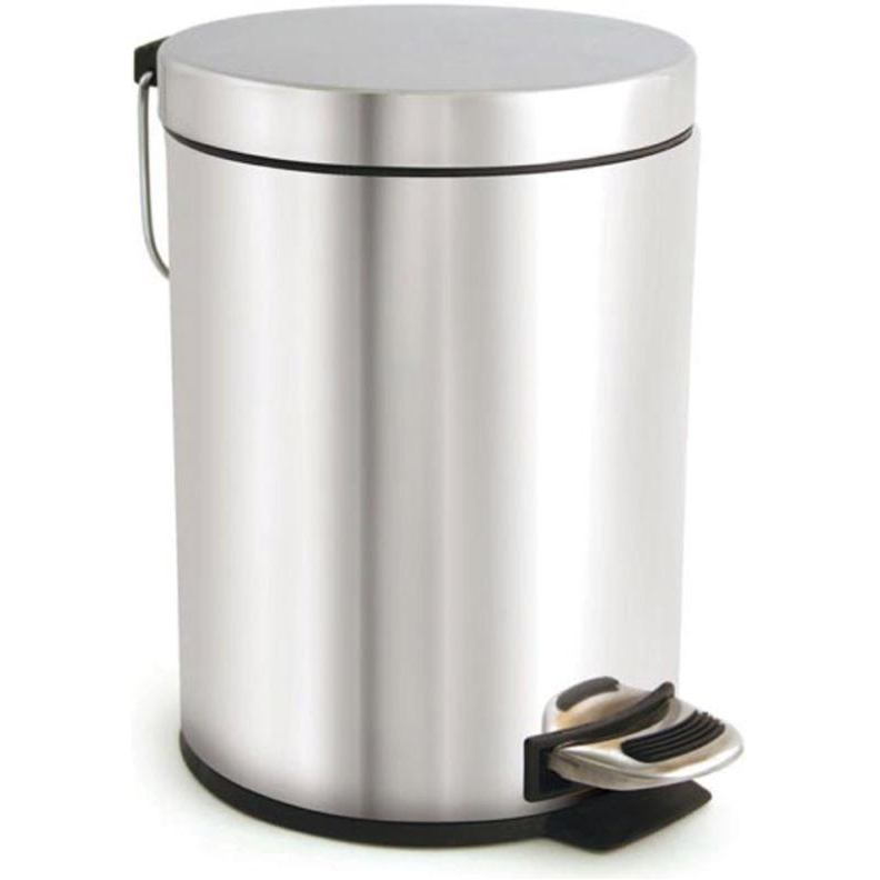 Pedal Bin with Removable Inner Bucket 5 Litre Stainless Steel