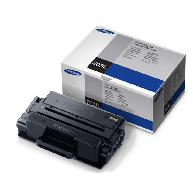 Image for Samsung MLT-D203L Laser Toner Cartridge High Yield Page Life 5000pp Black Ref SU897A