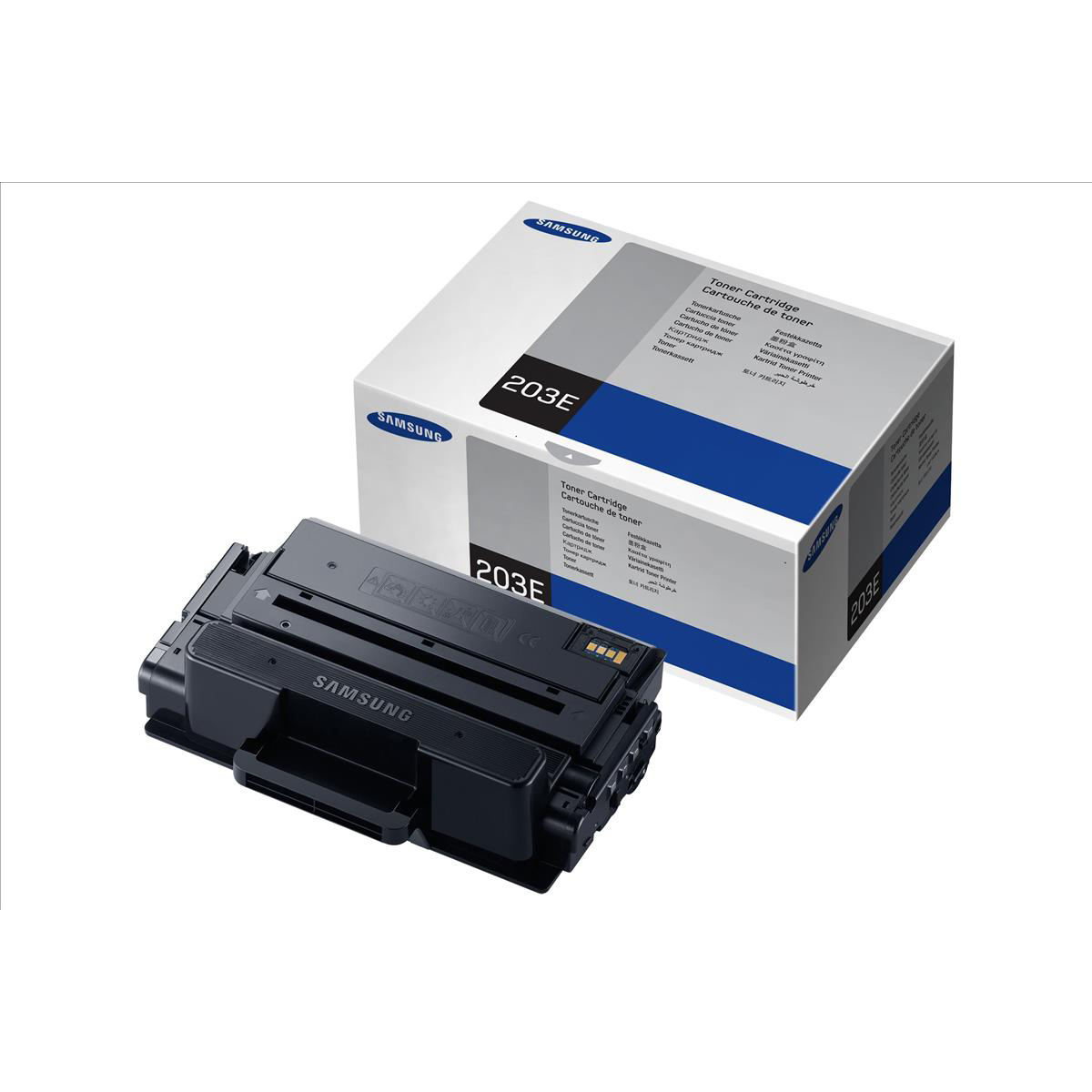 Samsung MLT-D203E Laser Toner Cartridge Extra High Yield Page Life 10,000pp Black Ref SU885A