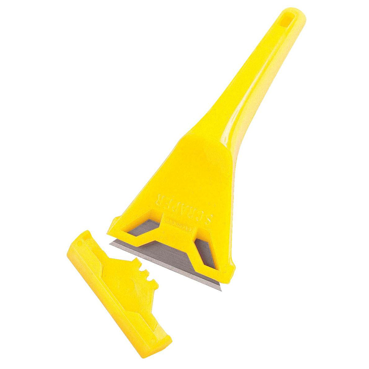 Stanley Window Scraper Yellow Ref 0-28-590