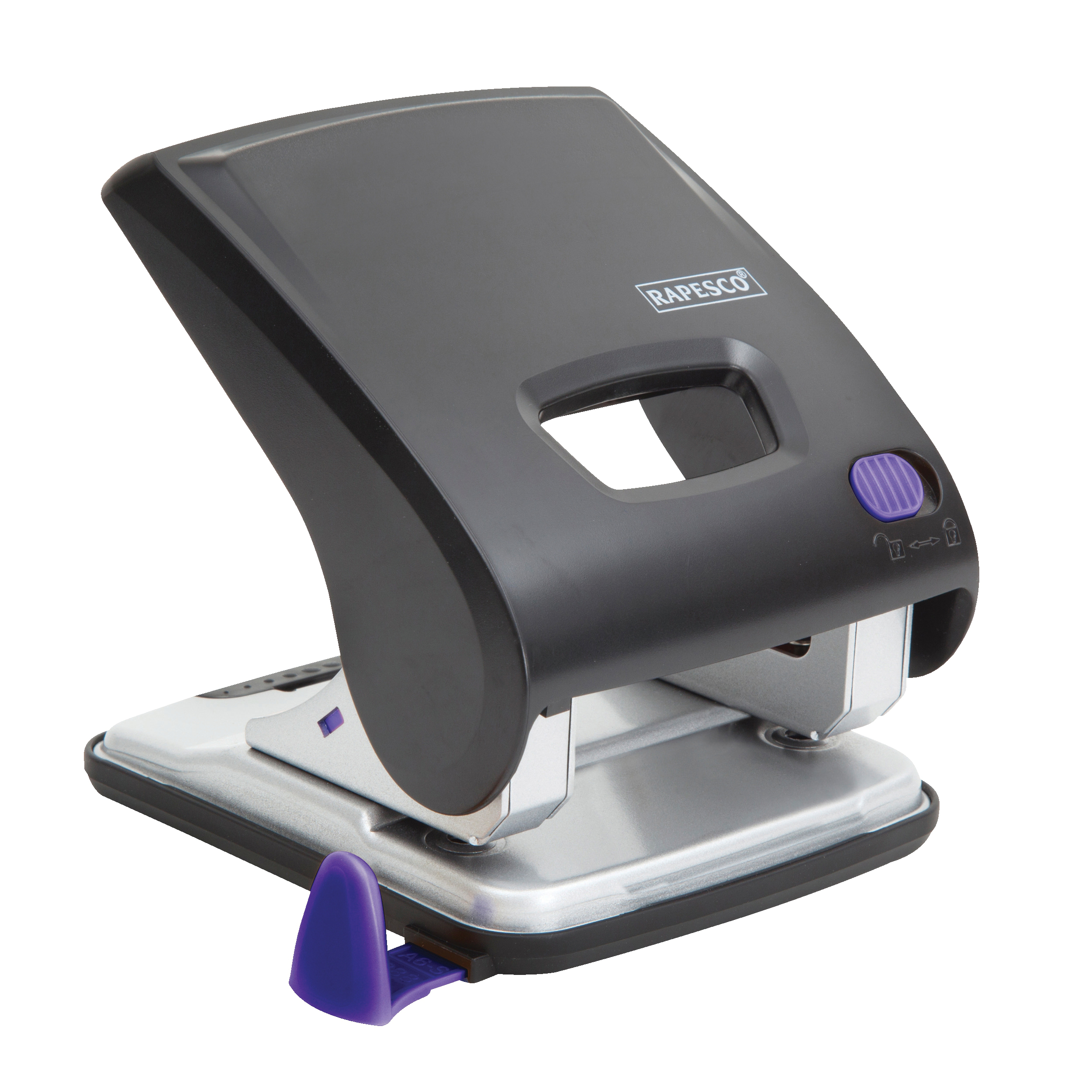Rapesco X5-30ps Power Assisted 2 Hole Punch Ref 1171