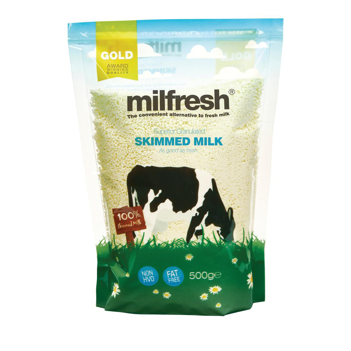 Milk Milfresh Granulated Skimmed Milk Dairy Whitener 500g Ref A02461