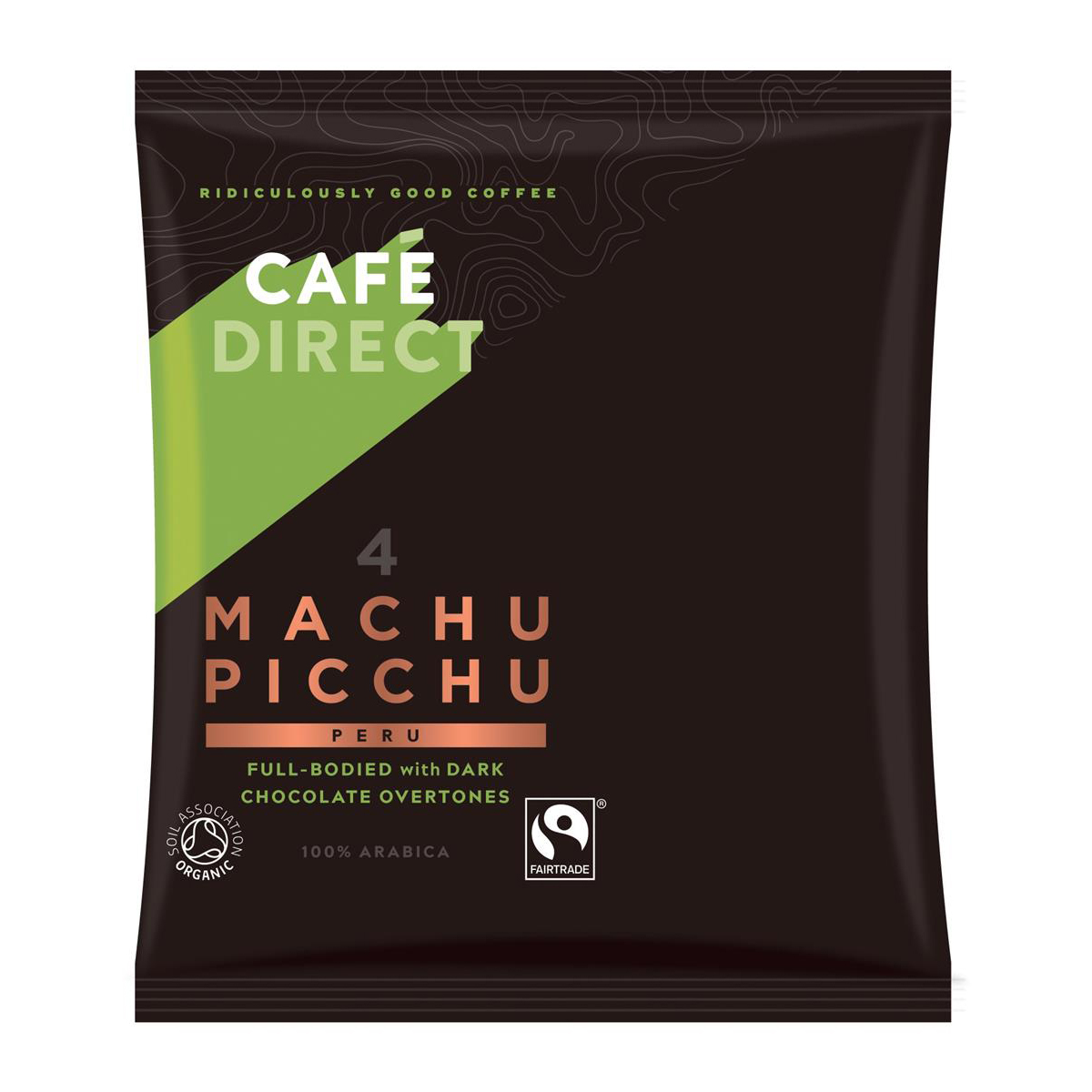 Coffee Cafe Direct Machu Picchu Peru Filter Coffee 60g Sachet Ref FCR1011 Pack 45