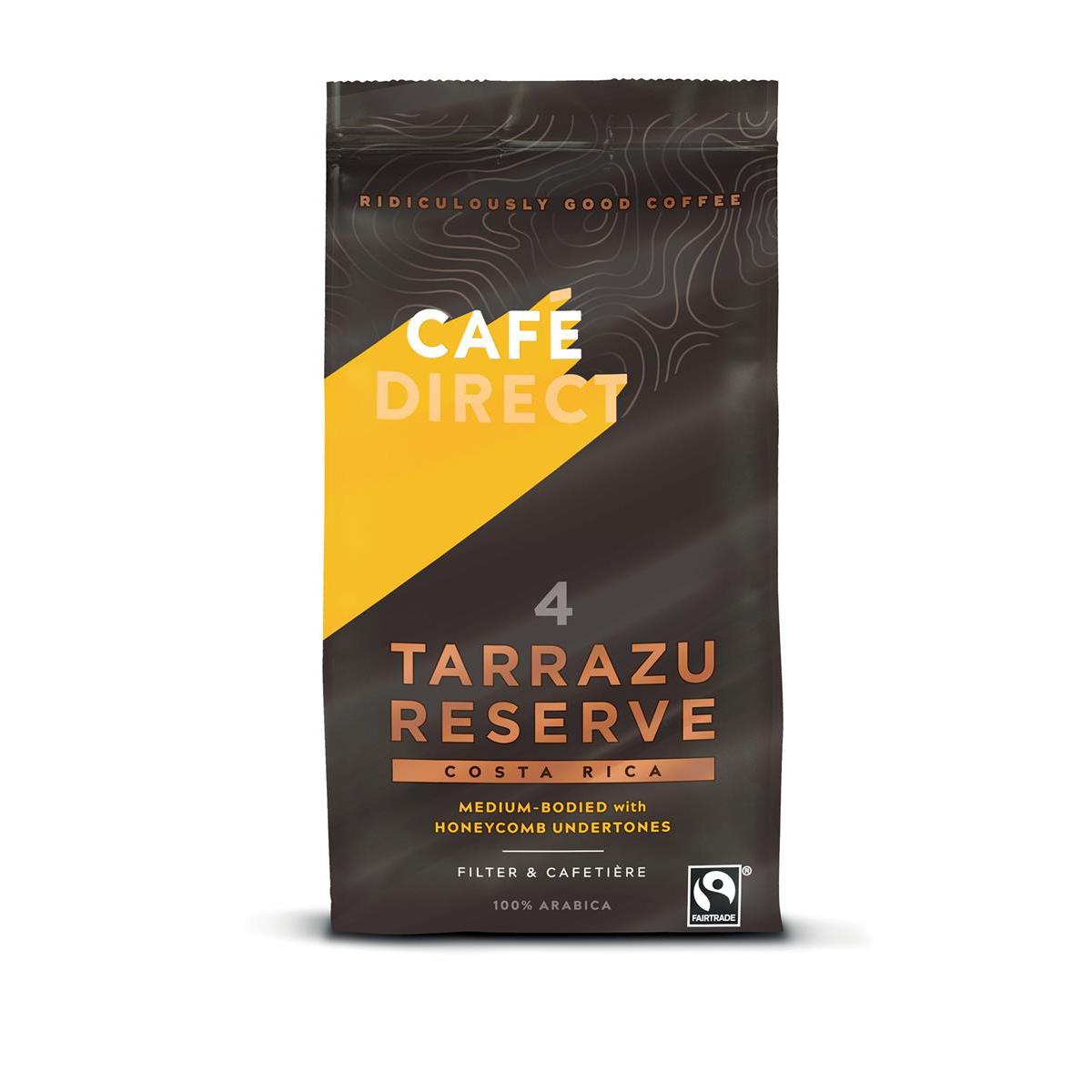 Cafe Direct Tarrazu Costa Rica Fairtrade Roast and Ground Coffee 227g Ref FCR0024