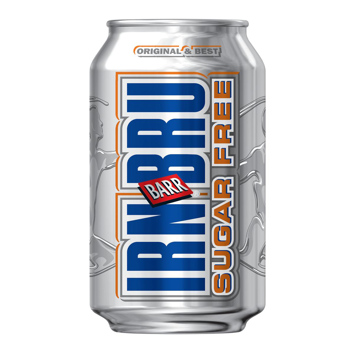 Irn Bru Sugar Free Soft Drink Can 330ml [Pack 24]