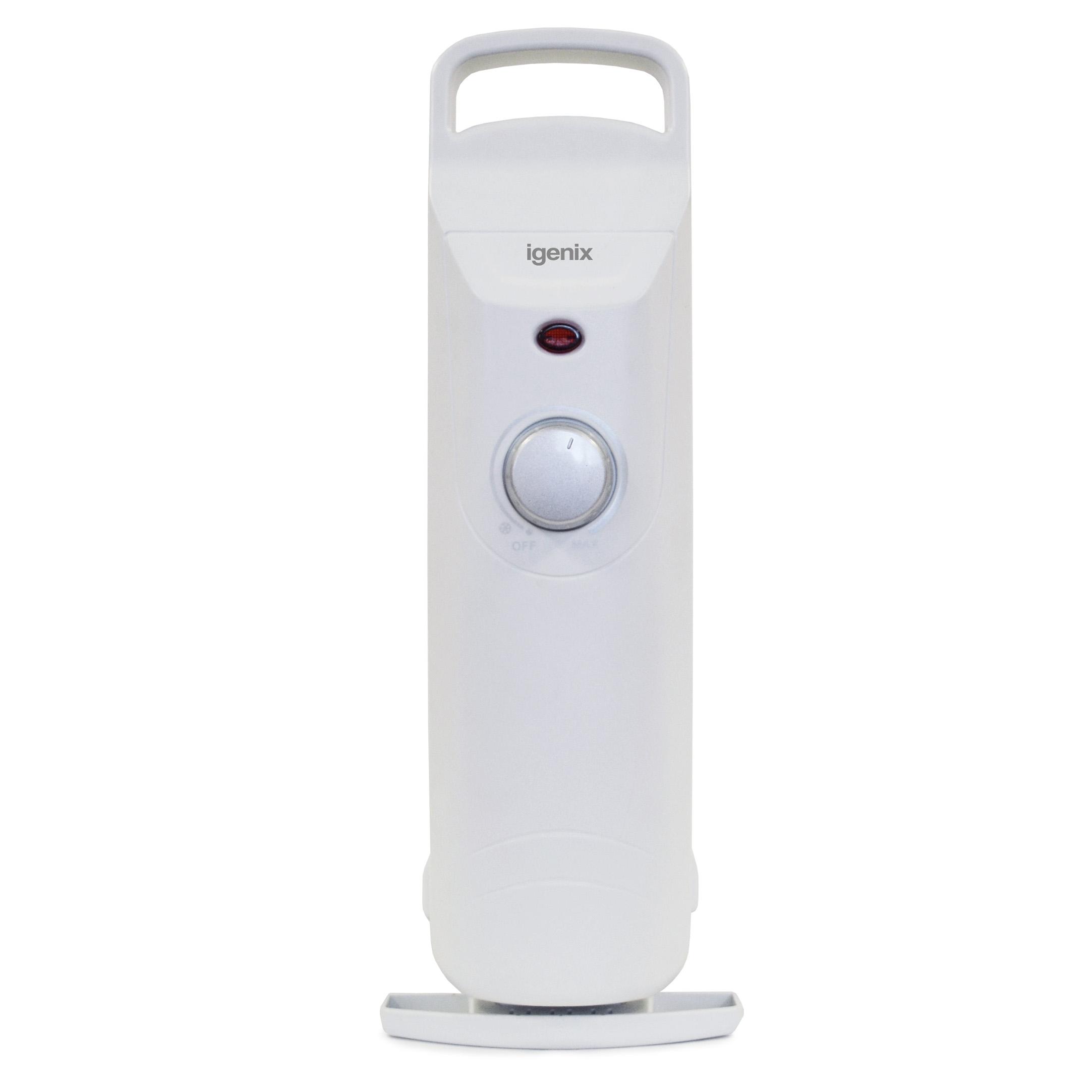 Igenix 600W Oil Filled Radiator White Ref IG0500