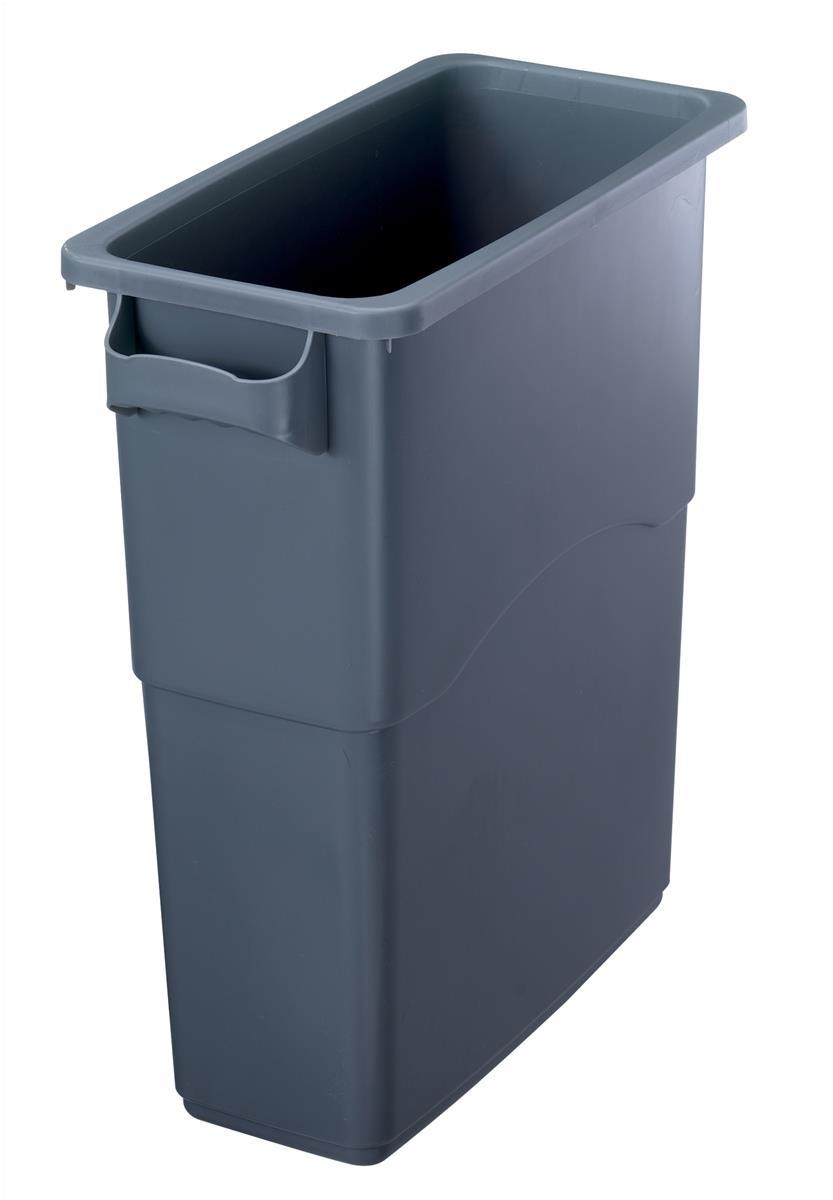 Image for EcoSort Recycling System Midi Bin 60 Litre Capacity Anthracite Grey Ref SPICEMIDGREY1