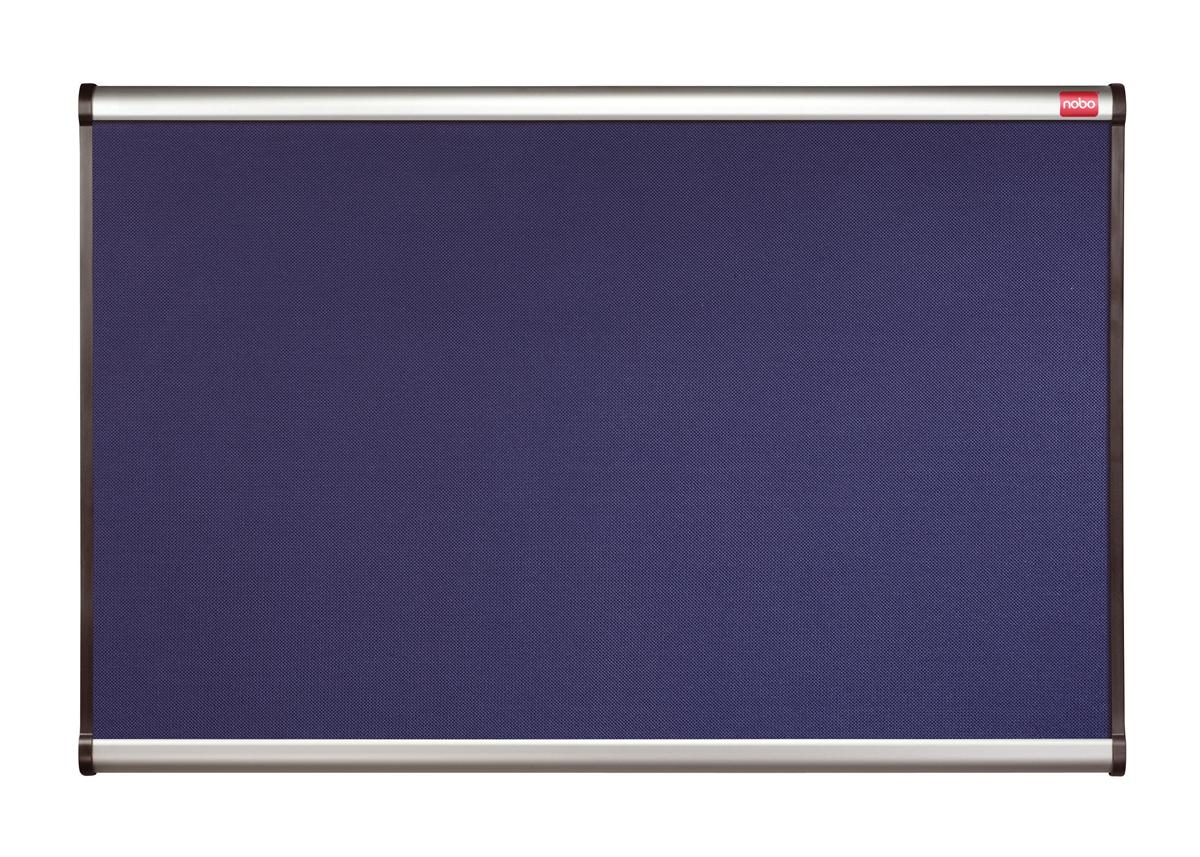 Nobo Prestige Noticeboard Diamond Mesh with Aluminium Finish W1200xH900mm Blue Ref QBR444A