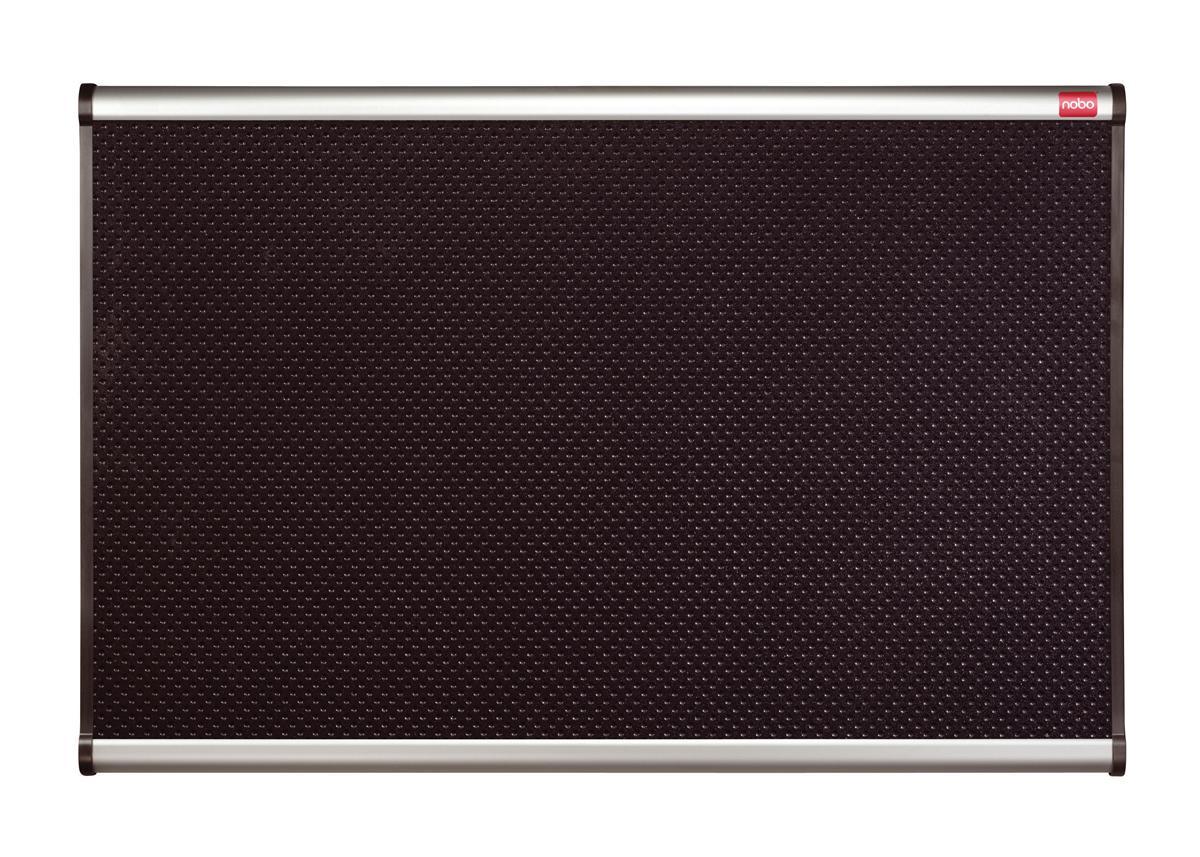 Quartet Prestige Noticeboard High-density Foam with Aluminium Finish W1200xH900mm Black Ref QB344A