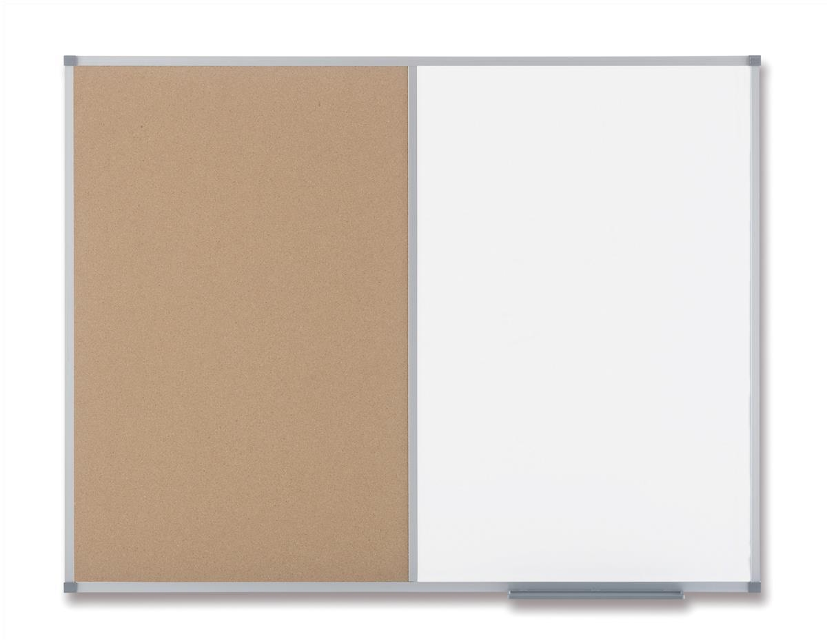 Nobo Classic Combination Board Drywipe and Cork W1200xH900mm Ref 1901588