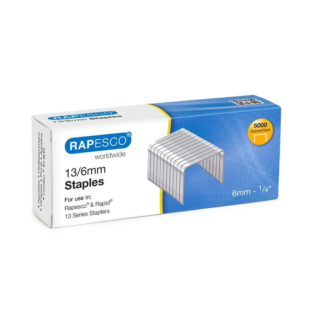 Image for Rapesco Tacker Staples 13/6 Ref S13060Z3 [Pack 5000]