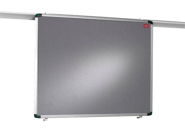 Nobo Pro-Rail Notice Board 1200x900mm Aluminium Trim Ref 1901236