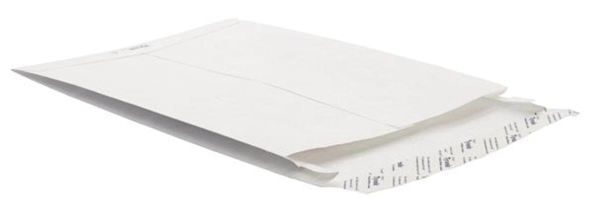 Image for Tyvek Gusseted Envelopes Extra Capacity Strong C4 H324xW229xD20mm White Ref 11762 [Pack 100]