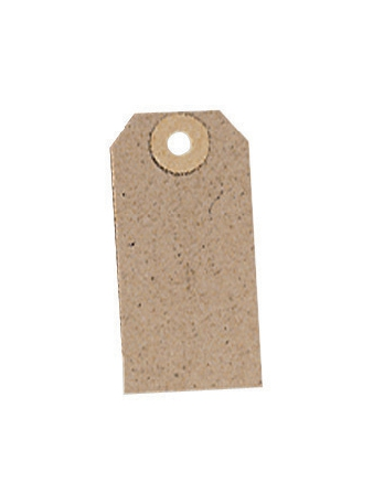 Image for Tag Label Unstrung 82x41mm Buff [Pack 1000]
