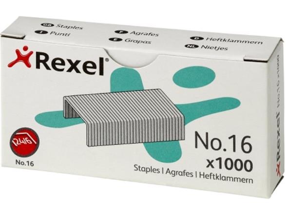 Image for Rexel 16 Staples 6mm Ref 06121 [Pack 1000]