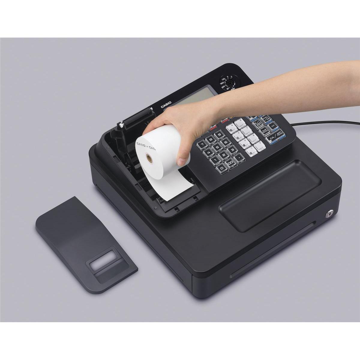 Image for Casio Cash Register 7 Segment x 8 Digit 12 Plus 24 Dept Ref SE-G1SD