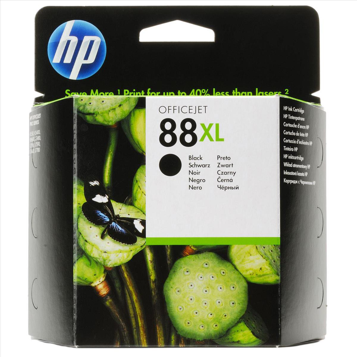 Hewlett Packard [HP] No.88XL Inkjet Cartridge High Yield Page Life 2450pp 58.9ml Black Ref C9396AE
