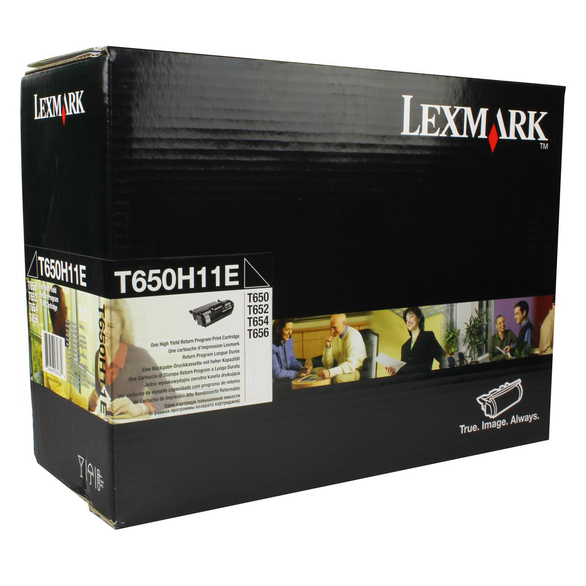 Lexmark Laser Toner Cartridge High Yield Page Life 25000pp Black Ref T650H11E