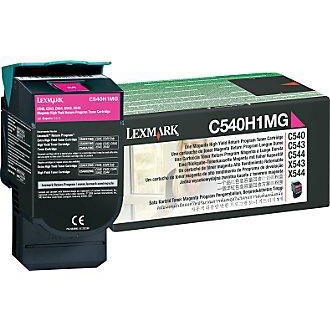 Lexmark C54/X54 Laser Toner Cartridge Return Programme High Yield Page Life 2000pp Magenta Ref C540H1MG