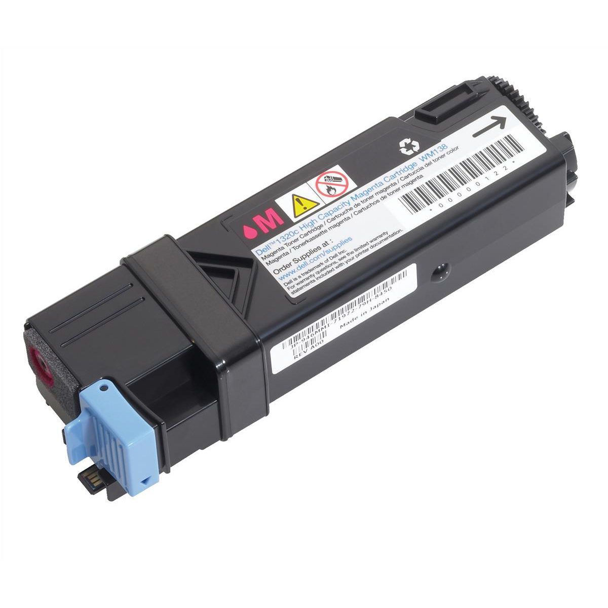 Dell KU055 Laser Toner Cartridge High Yield Page Life 2000pp Magenta Ref 593-10261