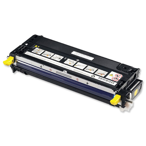 Dell No. NF555 Laser Toner Cartridge Page Life 4000pp Yellow Ref 593-10168