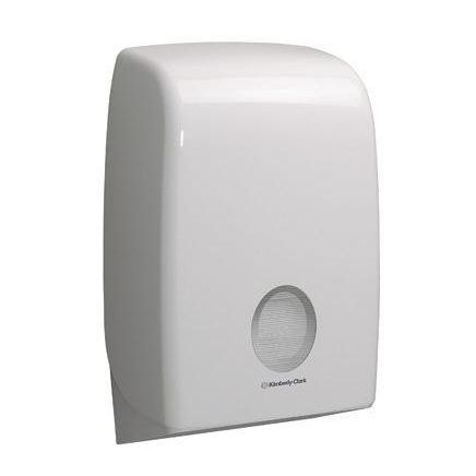 Kimberly Clark AQUARIUS Hand Towel Dispenser W265xD136xH399mm Plastic White Ref 6945